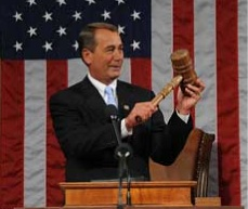 John Boehner And His Gavel