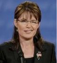 Sarah Palin Winks