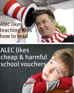 I Stand With Alec, Not ALEC