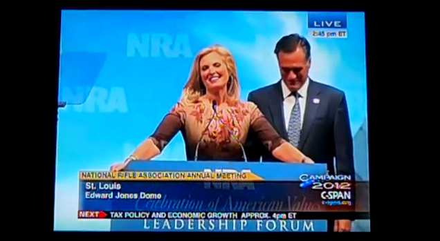*Mitt and Ann Romney and the NRA