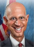 Rick Scott By DonkeyHotey