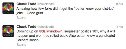 Chuck Todd Comedian