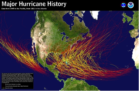 Major Hurricane History