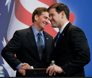 Marco Rubio and Jim DeMint
