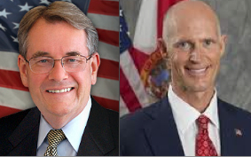 Don Gaetz, Rick Scott