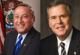 Jeb Bush, Paul LePage