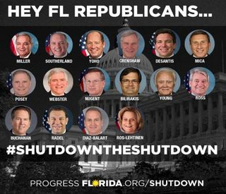 Florida's Shutdown Republicans