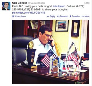 Gus Bilirakis Shutdown Photo-Op