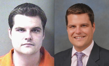 Matt Gaetz, Arrested Then Elected