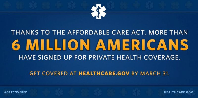 6 Million Signed Up ACA