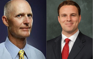 Rick Scott and Will Weatherford