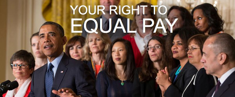 Equal Pay, White House