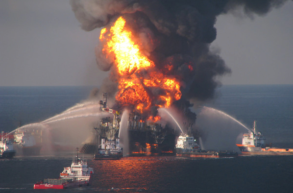 Deepwater Horizon, Coast Guard Photo