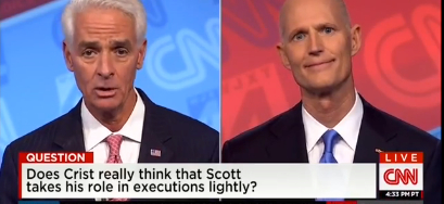 Rick Scott's Execution Smile