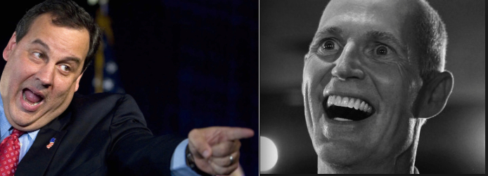 Chris Christie, Rick Scott