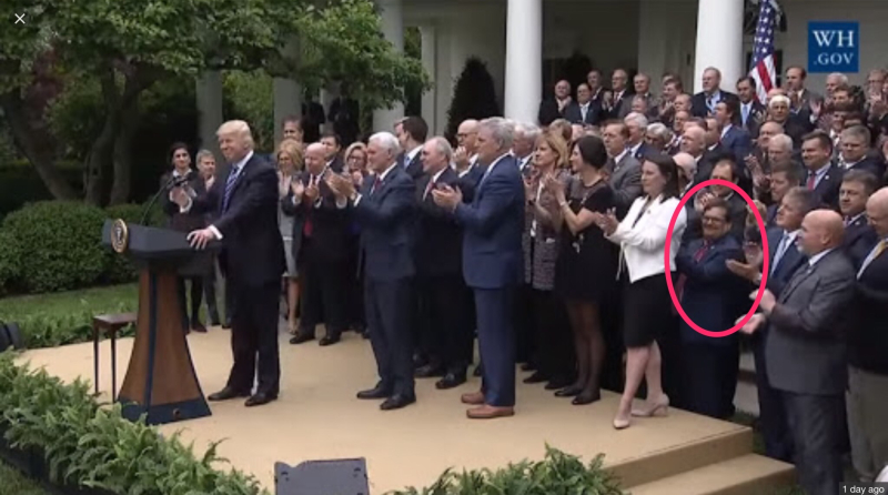 Bilirakis  Trump  AHCA Celebration