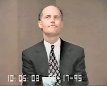 Rick Scott, Deposition