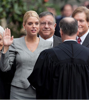 Pam Bondi Swearing In
