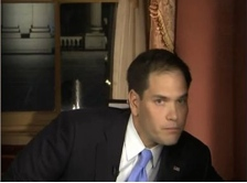 Marco Rubio And The Tall Drink Of Water - Version 2