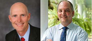 Rick Scott, John Bel Edwards