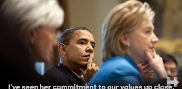 Pres. Obama Endorses Hillary Clinton